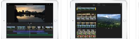 Aplicații de editat video pentru telefon Android sau iPhone iMovie