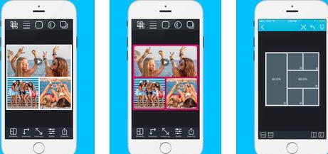 Aplicații de făcut colaje din poze sau video pe telefon Android sau iphone Pic Stich