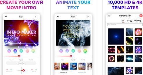 Aplicații de făcut intro-uri pentru Android sau iPhone Intro Music Video, Movie Maker