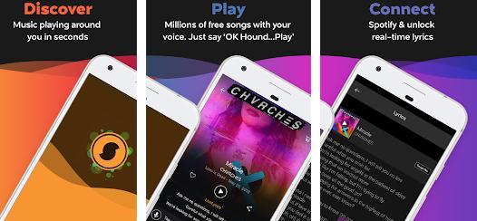 Aplicații de identificat recunoscut melodii Android iPhone SoundHound