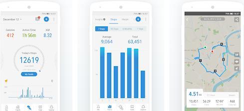 Aplicații de numărat pașii (Pedometru) Android sau iPhone Pacer