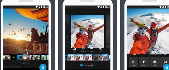 Aplicații de pus margini albe pe poze sau videoclipuri Quik