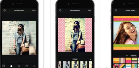 Aplicații de pus margini albe pe poze sau videoclipuri Square Fit