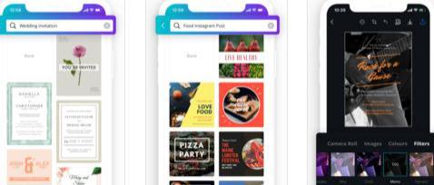 Aplicații de scris pe poze pentru Android sau iPhone Canva