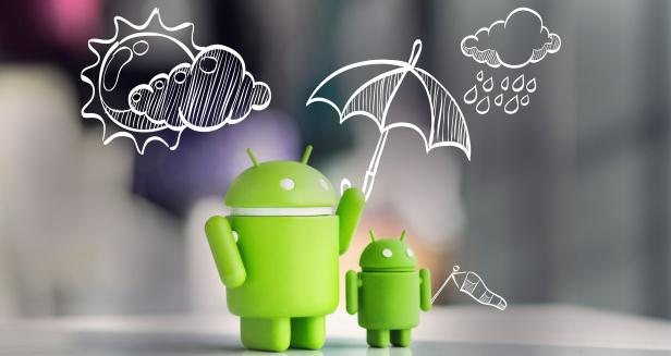 Aplicații meteo vremea pe telefon Android sau iPhone