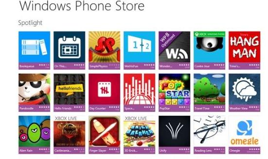 Aplicații pentru Windows Phone