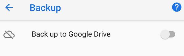 Backup și restaurare din copia de rezervă Android google drive