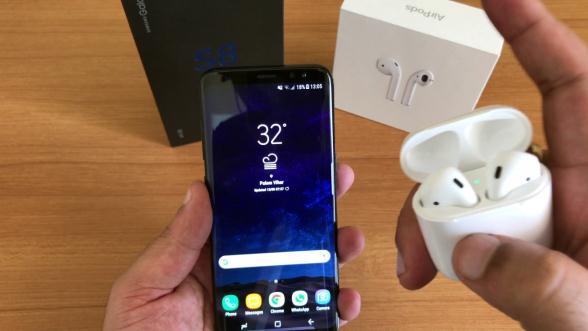 Conectare căști AirPods la telefon Android