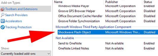 Cum poți vizualiza sau deschide fișiere SWF în Internet Explorer lista de aplicatii
