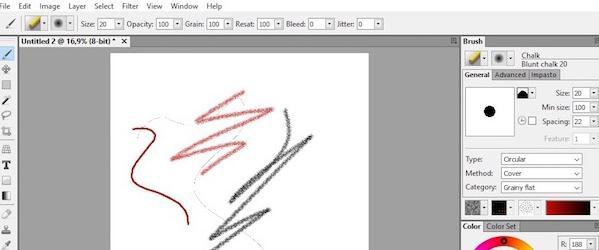 Programe de desenat pe calculator Windows sau Mac Artweaver Free