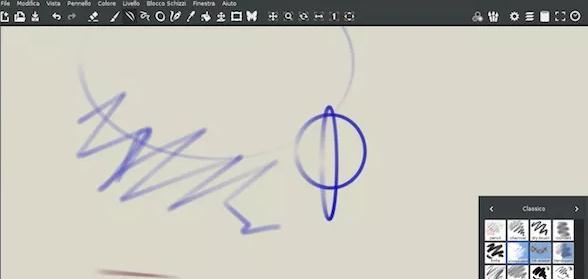 Programe de desenat pe calculator Windows sau Mac MyPaint