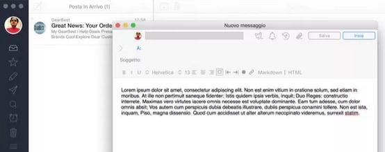 Programe pentru e-mail poșta electronică Windows AirMail
