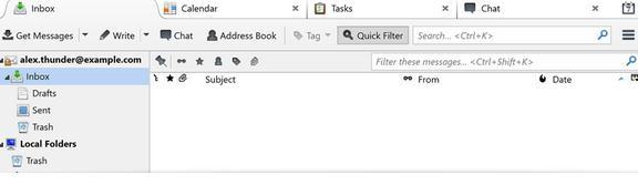 Programe pentru e-mail poșta electronică Windows Mozilla Thunderbird