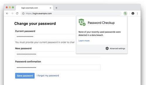Verifică parola la conturi cu extensia Password Checkup in browser google chrome