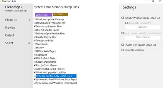 Șterge programe inutile din PC cu Cleanmgr+ pentru laptop sau calculator