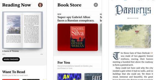 Aplicație de descărcat cărți pentru iPhone iBooks