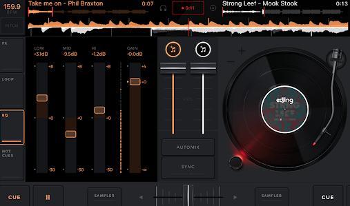 Aplicație de remixat muzica pe telefon android sau iphone edjing Mix