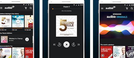 Aplicații de citit cărți pe telefon pentru Android sau iPhone Audible