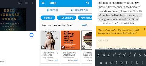 Aplicații de citit cărți pe telefon pentru Android sau iPhone Cărţi Google Play