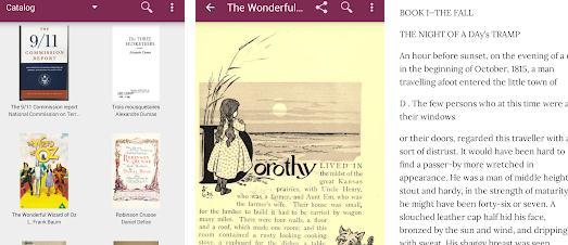 Aplicații de citit cărți pe telefon pentru Android sau iPhone GuteBooks