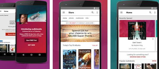 Aplicații de citit cărți pe telefon pentru Android sau iPhone Kobo