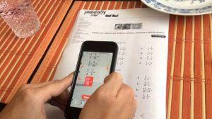 Aplicații de rezolvat exerciții și ecuații Android sau iPhone
