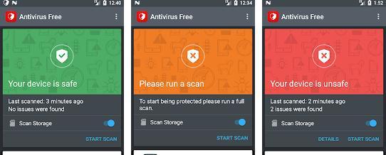Aplicații pentru antivirus securitate telefon Android Bitdefender Free