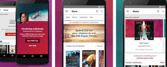 Aplicații pentru descărcat cărți Android sau iPhone Kobo