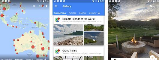 Aplicații pentru realitate virtuală VR Android sau iPhone Google Street View