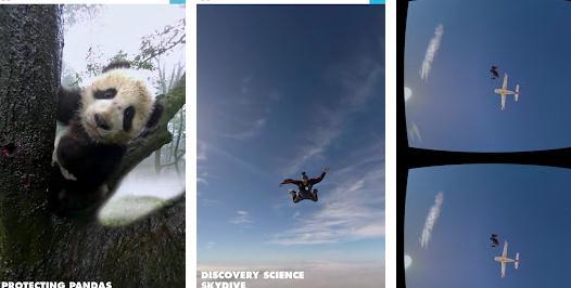 Aplicații pentru realitate virtuală VR Discovery VR