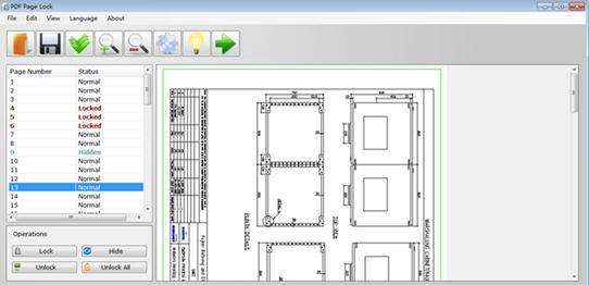 Blochează o pagină PDF cu parolă PDF Page Lock