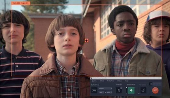 Captură de ecran la video în Windows 10 pe PC sau laptop