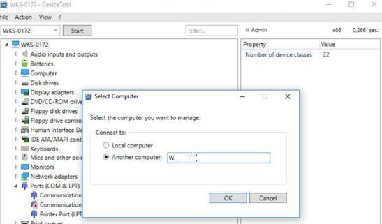 Cum se activează sau dezactivează dispozitivele cu DeviceTool