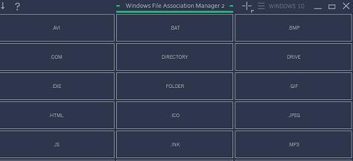 Cum se resetează asocierea fișierelor în Windows 10 Windows File Association