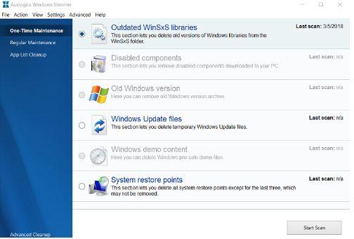 Curăță Windows 10 și recuperează spațiu pe hard disk