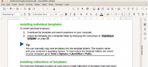 Libre Office program pentru birou de editat documente