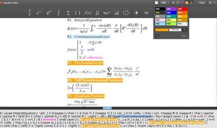 Programe de rezolvat ecuații și exerciții la matematică Daum Equation Editor