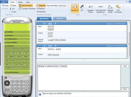 Programe de rezolvat ecuații și exerciții la matematică Microsoft Mathematics