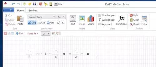 Programe de rezolvat ecuații și exerciții la matematică RedCrab