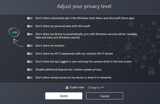 Rezolvă problema de confidențialitate în Windows 10 aplicatiile din Windows store