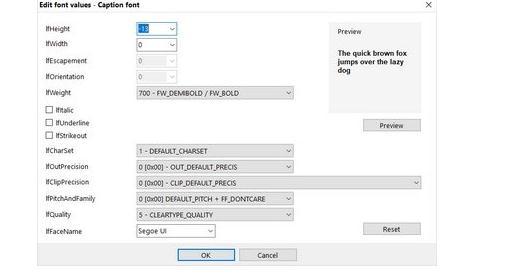 Schimbă dimensiunea fontului în Windows 10