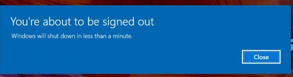 de ce nu se inchide calculatorul cu shutdown setările programului