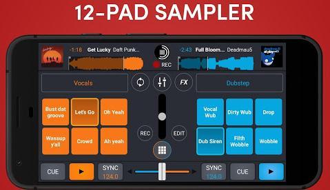 remixeaza muzica cu aplicatia Cross DJ
