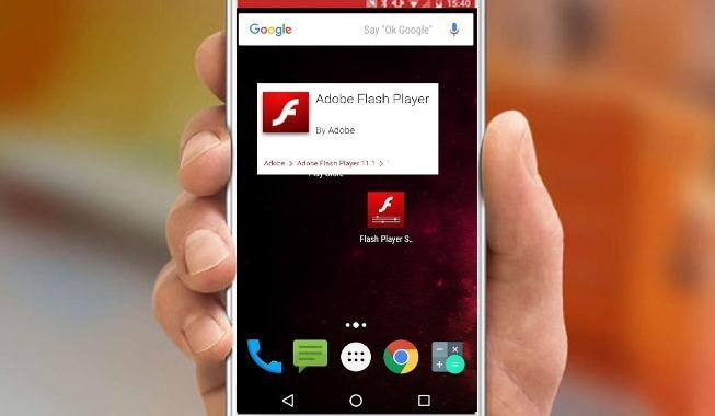 Adobe Flash Player pentru telefon Android sau tabletă