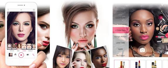 Aplicație machiaj profesional YouCam Makeup
