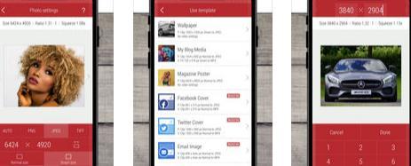Aplicații de făcut poze mai mici pentru Android sau iPhone Desqueeze
