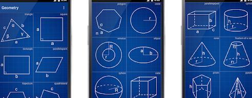 Aplicații de rezolvat probleme la matematică pe telefon Geometrie Calculator