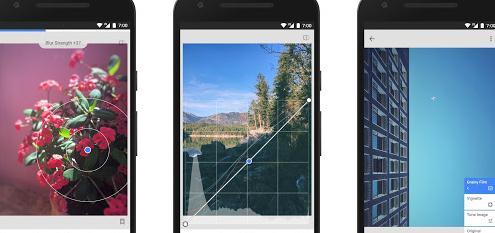 Aplicații pentru editare poze Snapseed