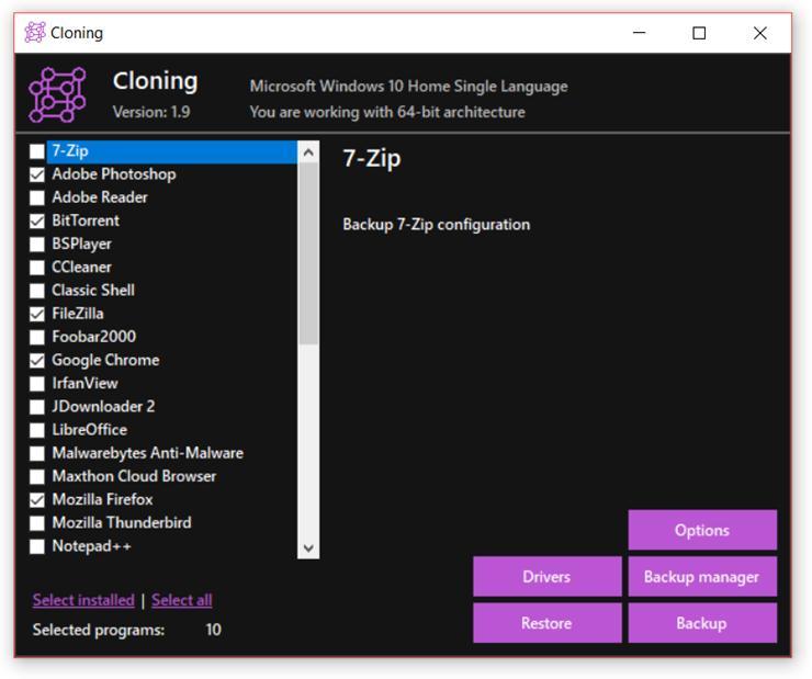 Backup și restaurare aplicații în Windows 10