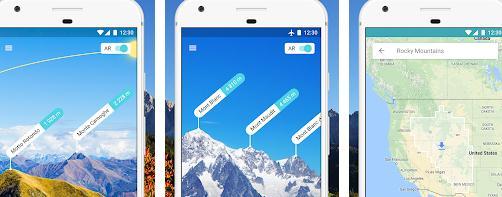 Cele mai bune aplicații pentru munte PeakVisor